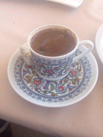 Seven Hills Restaurant : Turkish coffee