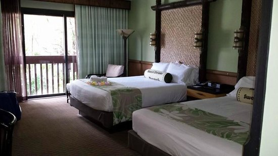 Disney's Polynesian Village Resort: Room Layout