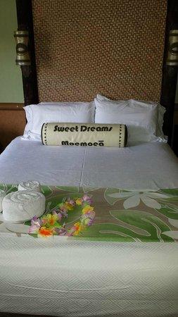 Disney's Polynesian Village Resort: Bed Setup