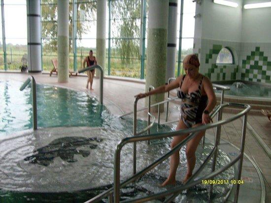 Ciechocinek, Polandia: Basen wewnętrzny