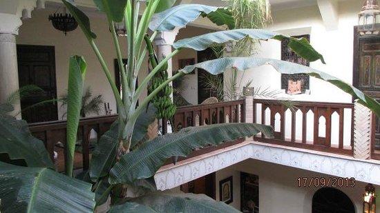 Riad Nomades: vue intérieure