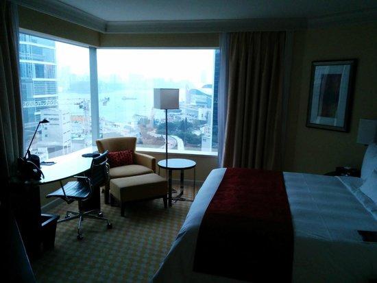 JW Marriott Hotel Hong Kong: How the room looks like