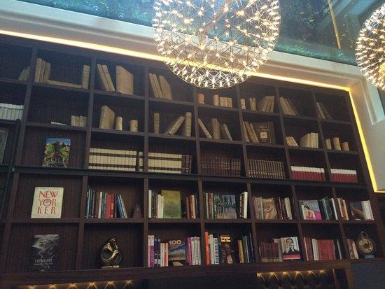 Hotel Milano Scala: Library hall