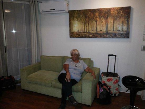 Apart Urbano Bellas Artes : living-comedor-