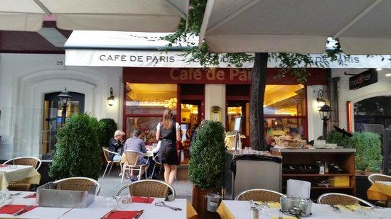 Chez Boubier Cafe de Paris: Cafe de Paris, Genève