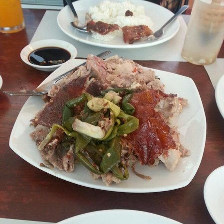 Rico's lechon: Spicy lechon. Hold on to your heart!