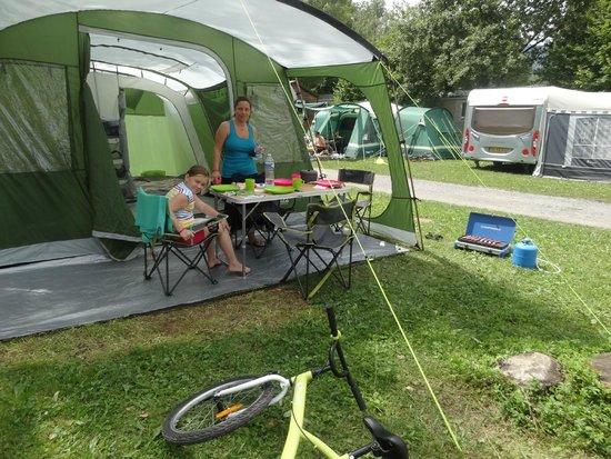 Village Camping Europa: tente familiale