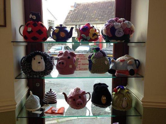 Angel Corner Tea Rooms: Tea cosies