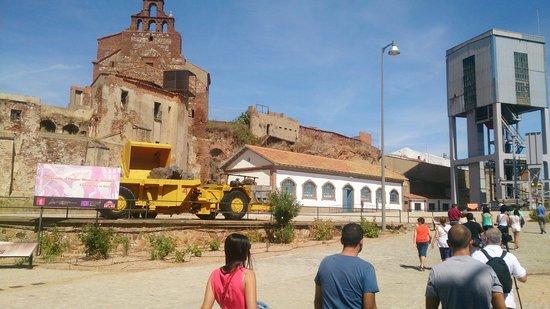 Parque Minero de Almadén: Exteriores