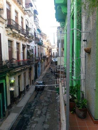 Casa Cristo Colonial: panoramica dal balcone della sala