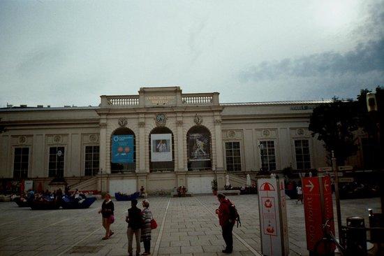 MuseumsQuartier Wien: 3