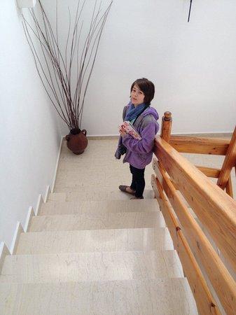 Hotel Matina: Stairwell