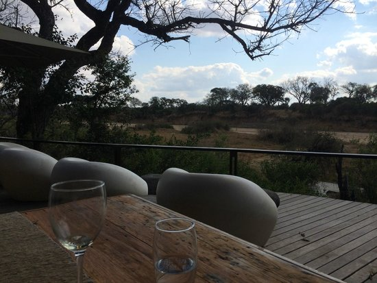 andBeyond Ngala Tented Camp : Lunch view