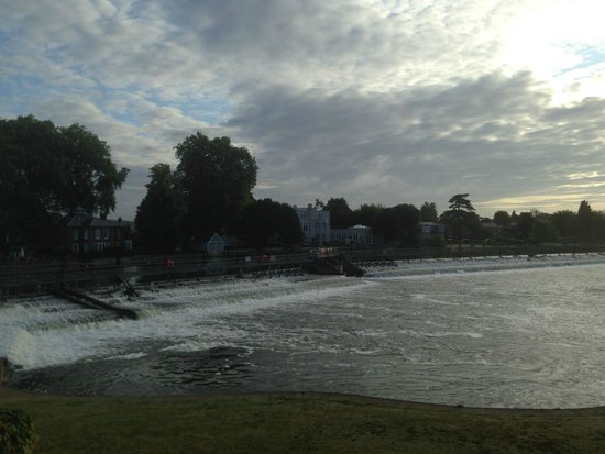 Macdonald Compleat Angler: View from the room, early morning