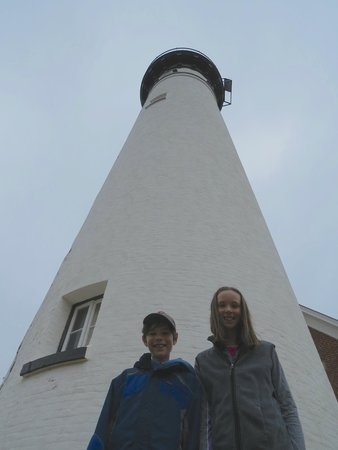 Pictured Rocks National Lakeshore: RN & AG at Au Sable LIght Station base PRNLS August 2014 IMG_9709