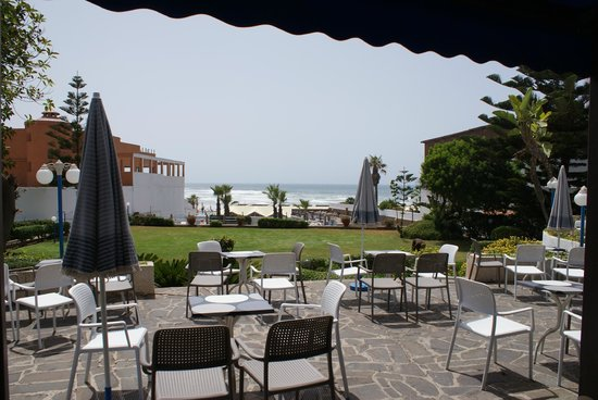 Hotel Bellerive : view from the garden