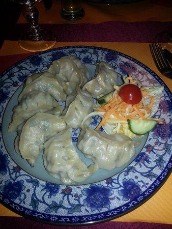 Restaurant Lung TA : Petite ravioles farcie de viande de proc et légumes