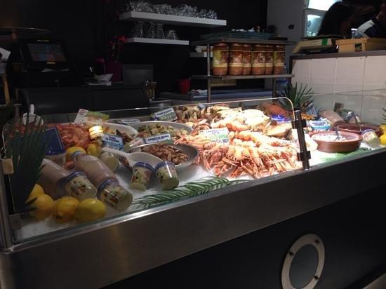 La Pigouille - Bar a Huitres : banco del pesce