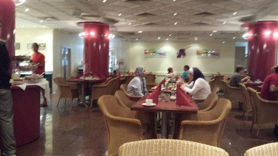 Savoy Hotel Frankfurt: Frühstücksraum