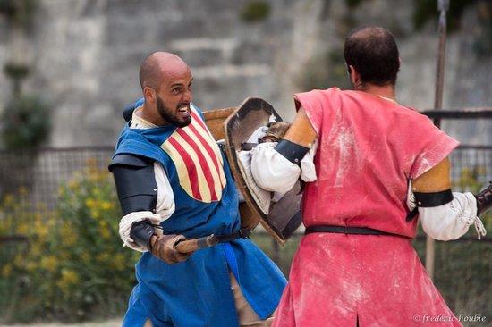 Château des Baux de Provence : Duel médiéval