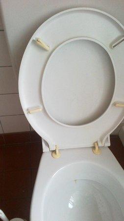 Hotel Pension Central: Toilette