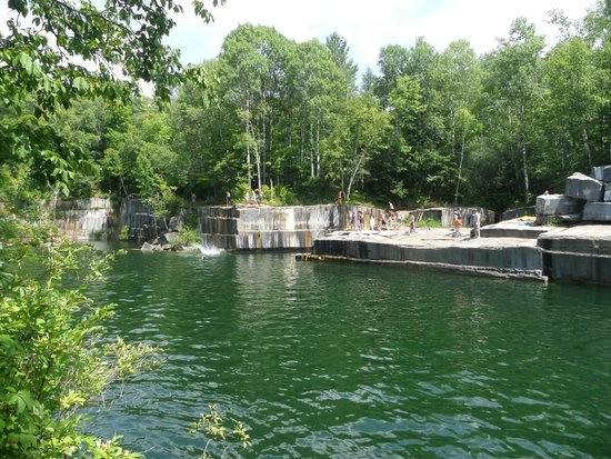 Backroad Discovery Tours: Marble Quarry Swimming Hole