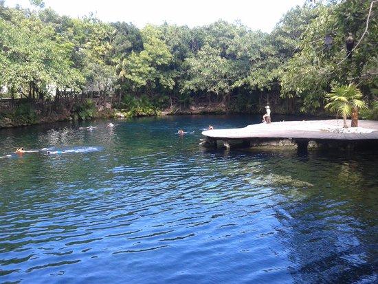 Sandos Caracol Eco Resort : Cenote