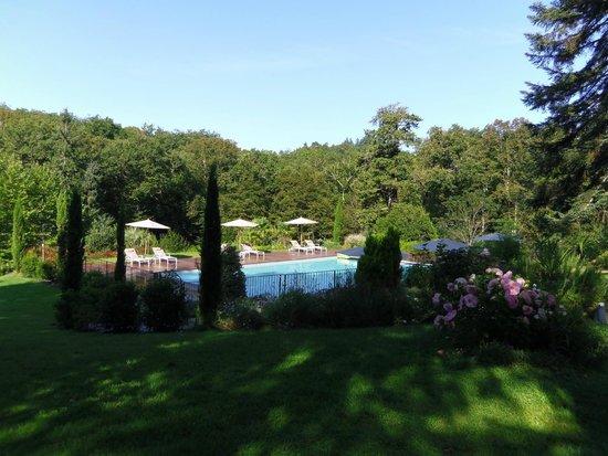 Le Castelet : Autre vue de la piscine