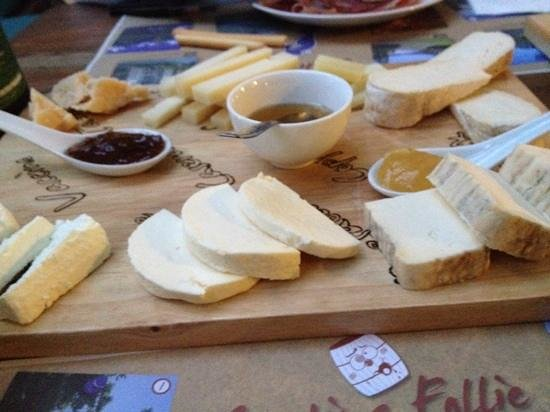 Cantina Follie: Plateau de fromages
