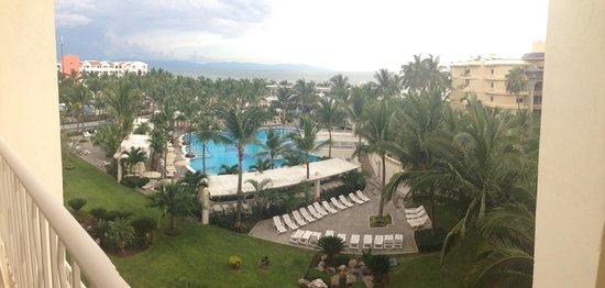 Hotel Riu Vallarta : The view from Room 3017 balcony