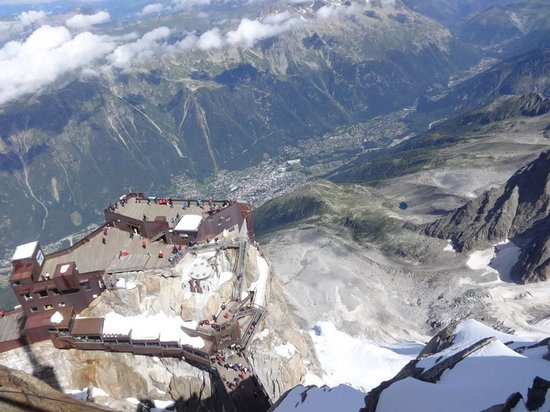 Aiguille du Midi : View from the top