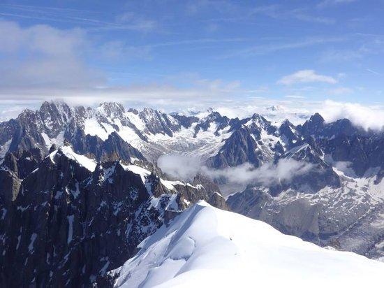 Aiguille du Midi: Alps