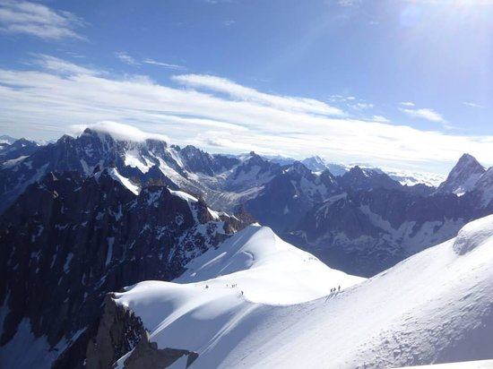 Aiguille du Midi: Vallee blanche