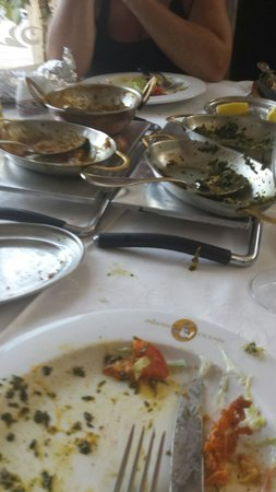 Indian Ocean Restaurant: Cleared completely so nice!!
