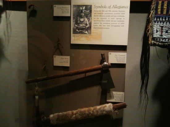 Museum of the Plains Indian: Pipa de la paz