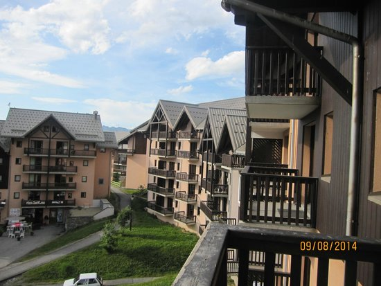 Residence Les Hauts de Valmeinier: vue du balcon