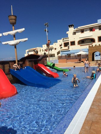 Blau Punta Reina Resort: Toboggans.