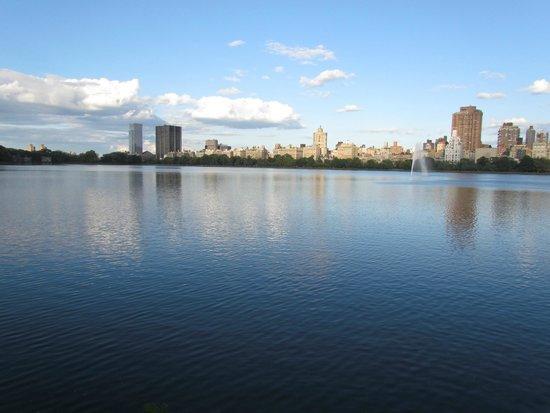 Main reservoir of Central Park