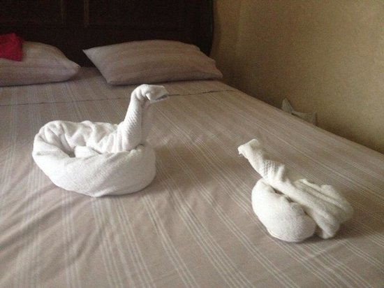 Hotel Bella: Animal towels