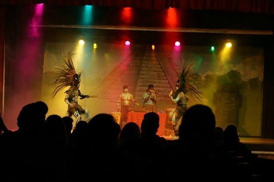 Occidental at Xcaret Destination: live entertainment