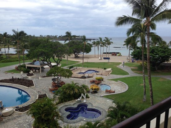 Mauna Lani Bay Hotel & Bungalows: View from Room 454