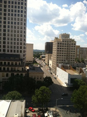 The Driskill: View from Room 1006