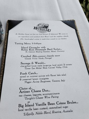 Hukilau Lanai : Early-bird tasting menu, go for it!