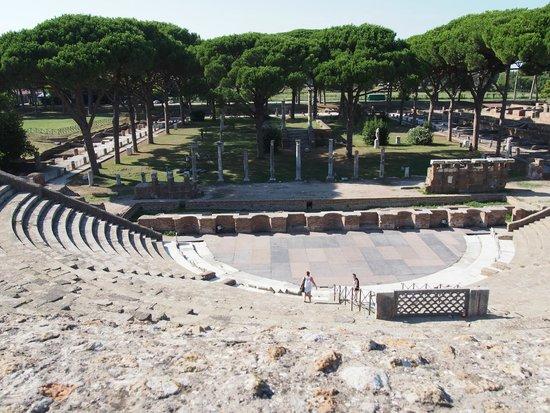 Ostia Antica: The mini-amphitheatre