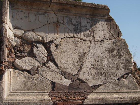 Ostia Antica inscriptions