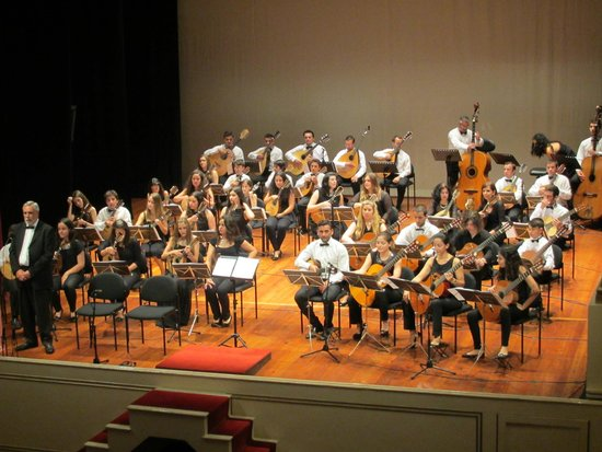 Madeira Mandolin Orchestra : Das Orchester im Teatro Municipal