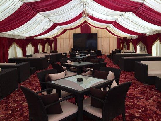 The Ajman Palace Hotel: Lounge bar