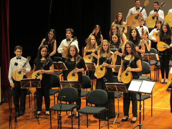 Madeira Mandolin Orchestra : Teil des Orchesters