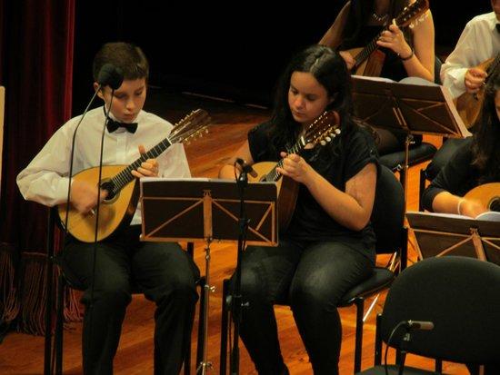 Madeira Mandolin Orchestra : Zwei Solisten