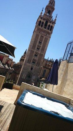 EME Catedral Hotel : terraza de la habitación!!
